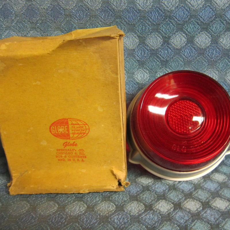 1952 Ford Pass & Station Wagon NORS Tail Light Lens