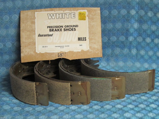 1971 72 73 Ford Pinto NORS Rear Brake Shoes (See Detailed Ad)