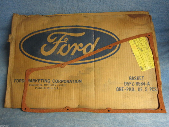 1974 75 76 77 78 79 Ford NOS Valve Rocker Arm Cover Gaskets 140 CID (Pkg of 5)