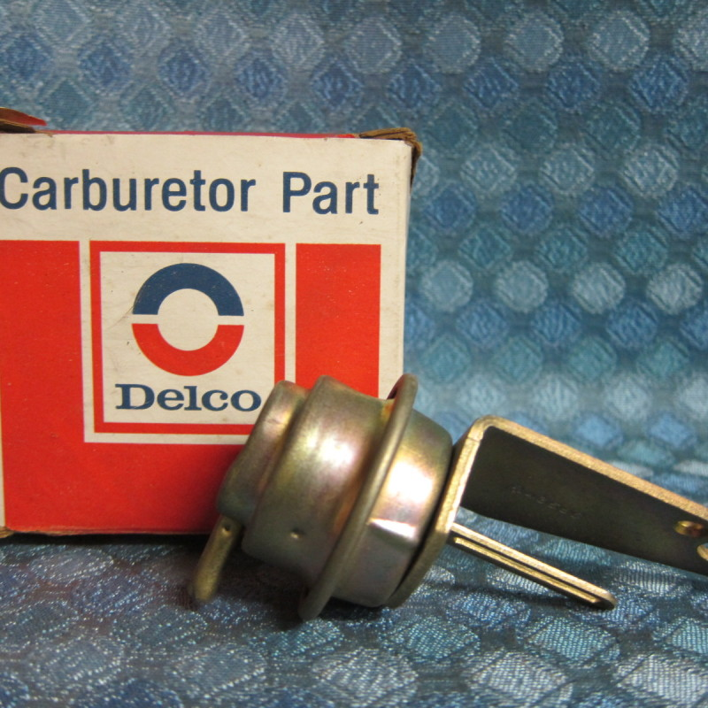 1975-76 Pontiac, Oldsmobile 2 BBL NOS Delco Choke Pull Off # 7043586 SEE AD