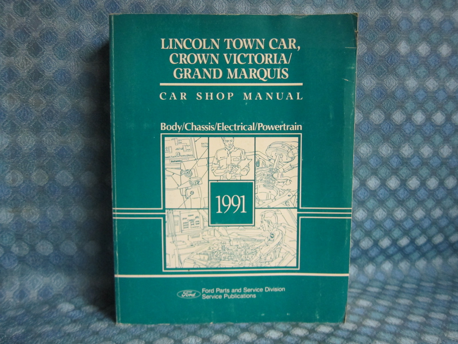 service manual 1991 lincoln town car service manal. Black Bedroom Furniture Sets. Home Design Ideas