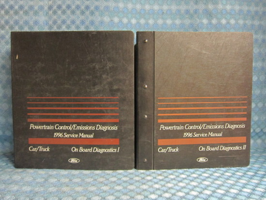 1994 Ford Lincoln Mercury Original Emissions Diagnosis Service Manuals 2 Vol Set