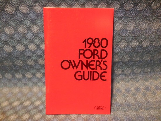 1980 Ford LTD NOS Owners Manual