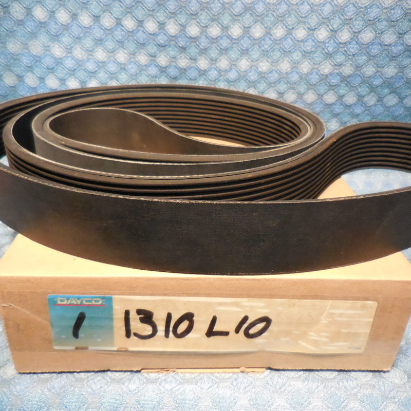"Dayco Poly Rib Serpentine Belt 10 Rib 1-7/8"" Wide 131"" Long #1310L10"