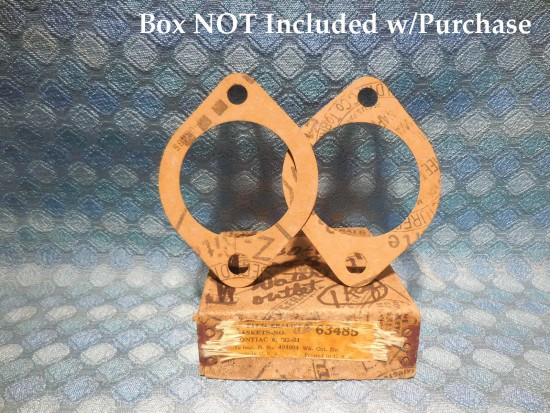 1933-54 Pontiac NORS Pair of Water Outlet Gaskets 35 36 37 39 41 47 48 49 51 53