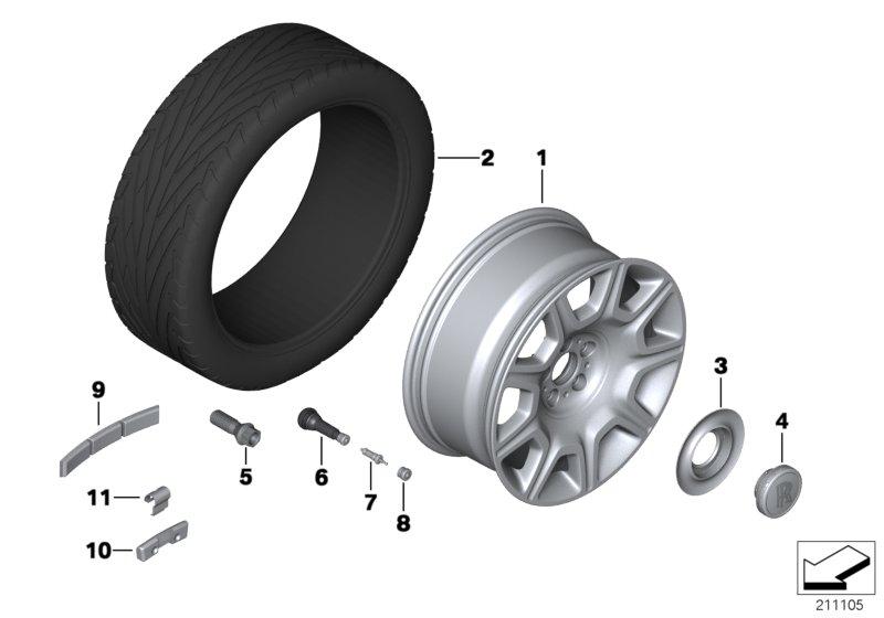 Wheels, Tires & Hub Caps
