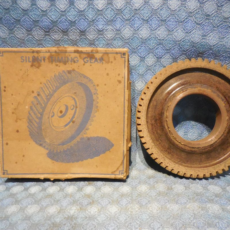 "1932 33 34 35 Ford V8 NORS Timing Gear Press on Fiber (.005"" Oversize)"