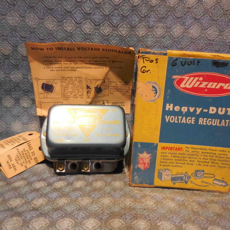 1947-1951 Frazer 1951-1952 Henry J NORS Wizard Voltage Regulator # L-3670