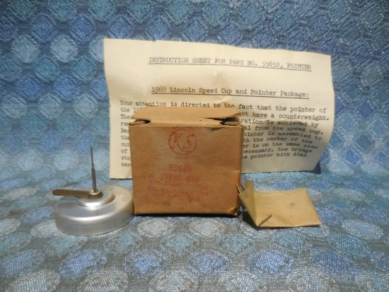 1960 Mercury NOS King Seeley Speedometer Speed Cup # 55649