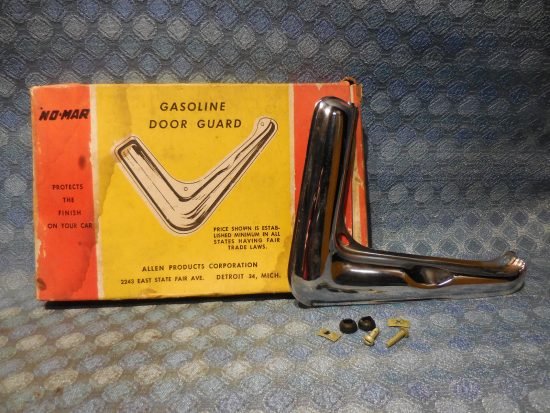 1950 Oldsmobile NORS Chrome Gasoline Door Guard / Trim