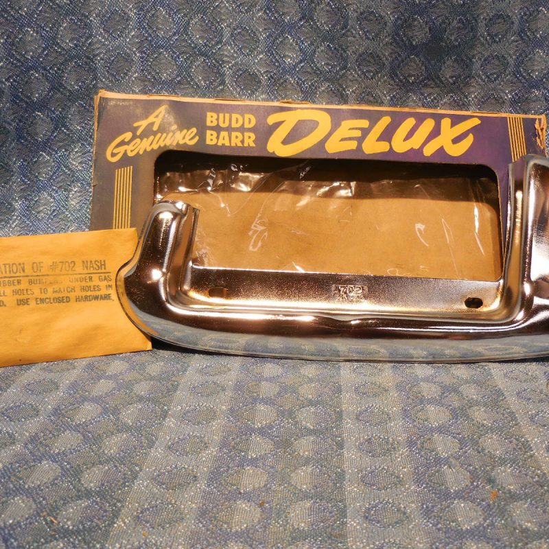1949 - 1950 Nash NORS Accessory Fuel Door Guard Statesman Ambassador