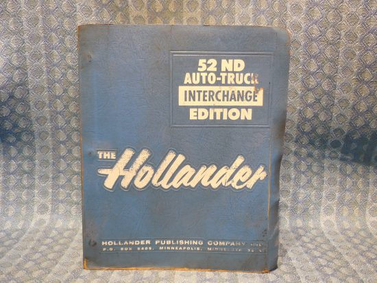 1974-1986 Original Hollander Interchange Manual GM Ford Mopar AMC 1975 77 79 81