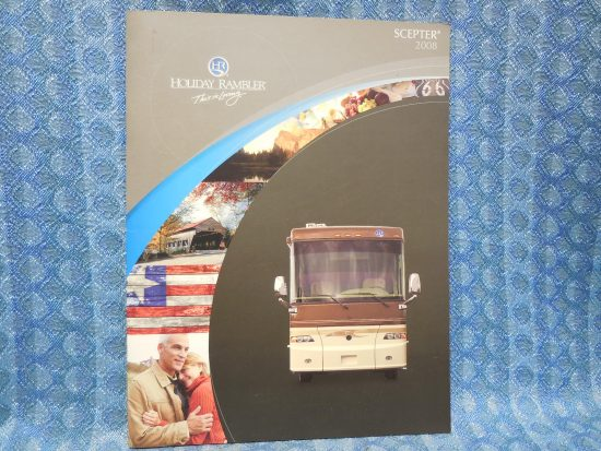 2008 Holiday Rambler Scepter Motor Home Original Sales Brochure