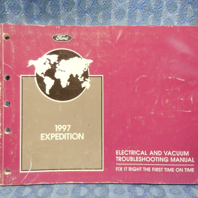 1997 Ford Expedition OEM Electrical & Vacuum Troubleshooting Manual