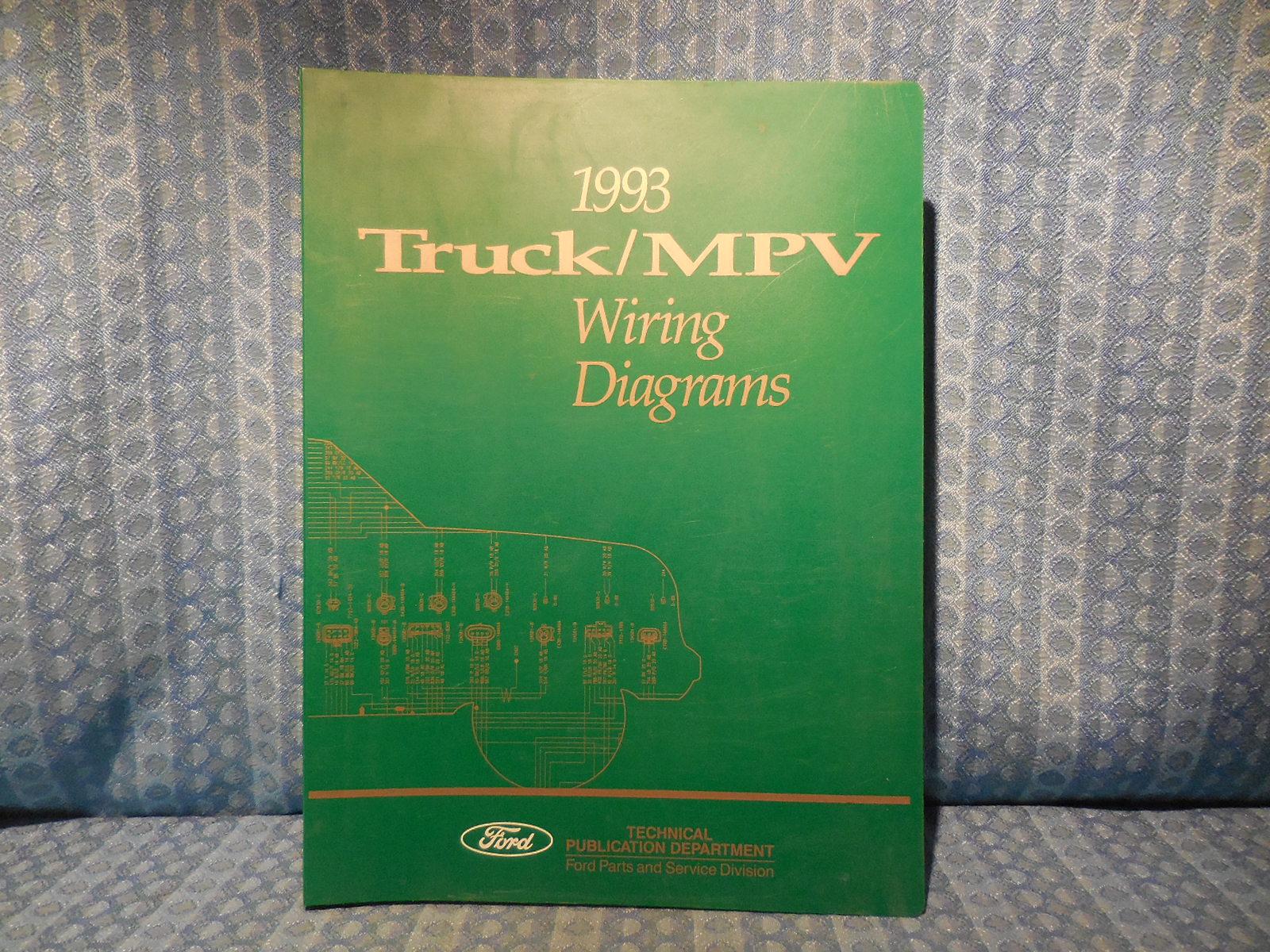 1993 ford truck oem wiring diagrams f150 800 ranger. Black Bedroom Furniture Sets. Home Design Ideas